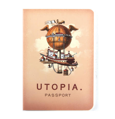 Utopia Passport - Perfect Pocket Notebook