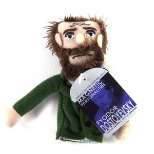 Fyodor Dostoyevsky Finger Puppet & Fridge Magnet