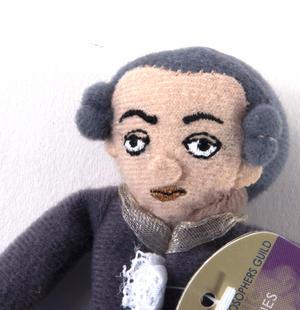 Immanuel Kant Finger Puppet & Fridge Magnet