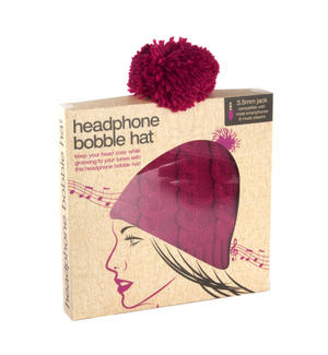 Headphone Bobble Hat Thumbnail 4