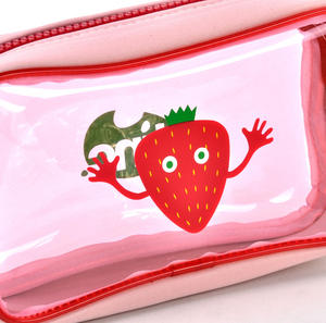 Strawberry (Red) Tasty Tincs PVC Pencil Case Thumbnail 2