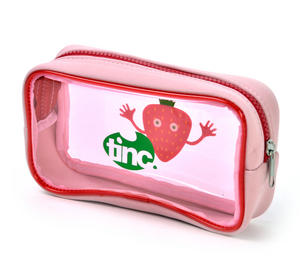 Strawberry (Red) Tasty Tincs PVC Pencil Case Thumbnail 3