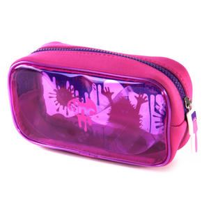 Splash (Pink / Purple) PVC Pencil Case by Tinc Thumbnail 3