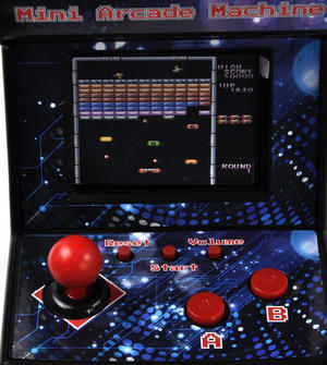 Mini Arcade Machine - 240 Retro Games on One Console Thumbnail 2