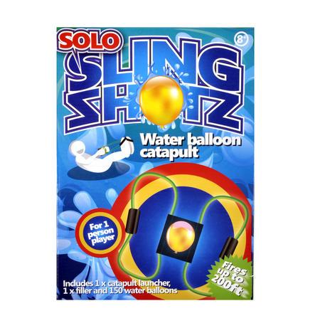 Solo Sling Shotz - Water Balloon Catapult