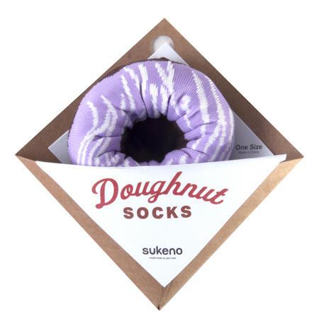 Lavender Swirl - Doughnut Socks