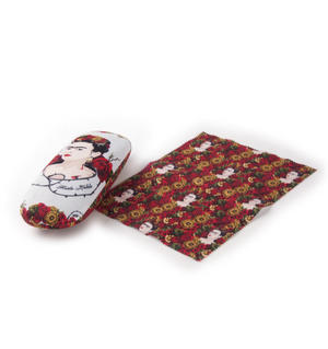 Frida Kahlo Rose Thorn Glasses Case and Lens Cloth Set Thumbnail 2