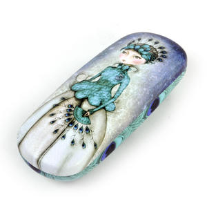 Miss Peacock Glasses Case by Mirabelle Thumbnail 1
