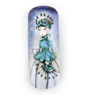 Miss Peacock Glasses Case by Mirabelle Thumbnail 3