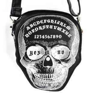 Ouija Skull Large Shoulder Bag