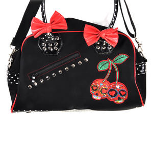 Cherry Skulls Carry All Bag Thumbnail 4