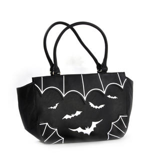 White Bats Shopping Bag
