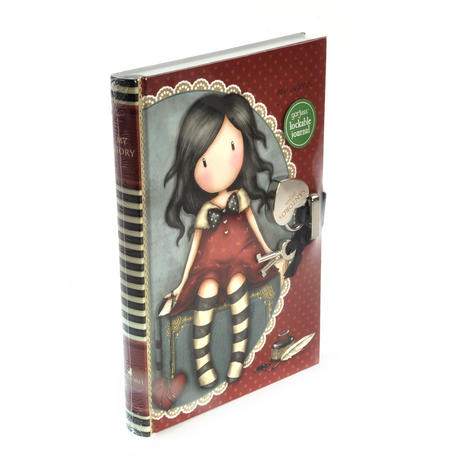 My Story Lockable Journal by Gorjuss