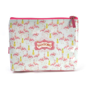 Flamingos Large Accessory Case by Santoro Thumbnail 4
