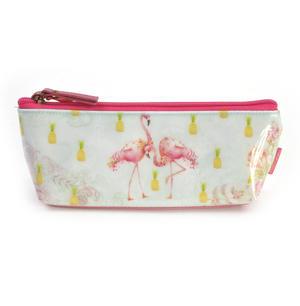 Flamingos Pencil & Accessory Case by Santoro