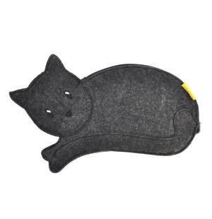 Black Cat Pencil & Accessory Case by Santoro