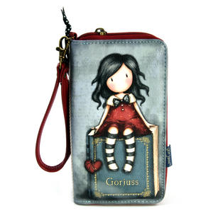 My Story - Large Zip Wallet By Gorjuss