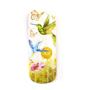 Humming Birds Glasses Case by Gorjuss