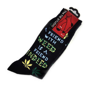 A Friend With Weed is a Friend Indeed Socks