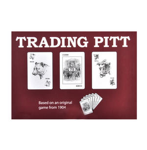 Trading Pitt Vintage Card Game