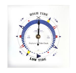 White Dial Tide Clock - Acrylic Classic Dial TC 7000 A - ACR 180 x 180mm Thumbnail 2