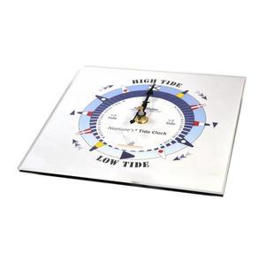 Blue Dial Tide Clock - Acrylic Classic Dial TC 7000 B - ACR 180 x 180mm Thumbnail 2