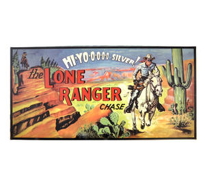 The Lone Ranger Chase  - The Hi Yoooo Silver Retro Board Game