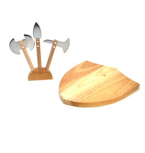 Medieval Cheese Board Set Thumbnail 1