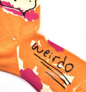 Love You Weirdo Socks