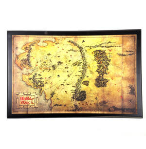 The Hobbit Middle Earth Map  by The Noble Collection Thumbnail 1