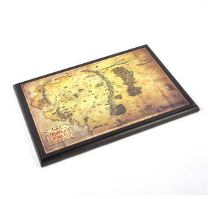 The Hobbit Middle Earth Map  by The Noble Collection Thumbnail 2