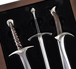 The Hobbit Sting Glamdring Orcrist Letter Opener Set by The Noble Collection Thumbnail 3