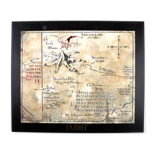 The Hobbit Thorin Oakenshield Map by The Noble Collection Thumbnail 1