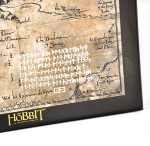 The Hobbit Thorin Oakenshield Map by The Noble Collection Thumbnail 5