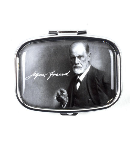 Sigmund Freud Medications & Pill Box