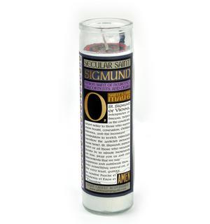Sigmund Freud - Secular Saint Sigmund Candle Thumbnail 2