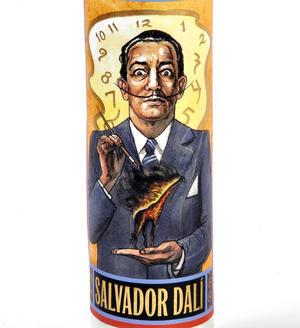 Salvador Dali - Secular Saint Salvador Candle Thumbnail 2