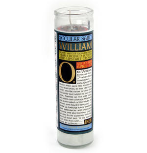 William Shakespeare - Secular Saint William Candle Thumbnail 3