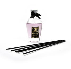 Black Rose Perfume Dispenser with Black Reeds  & Purple Rose Liquid 80ml