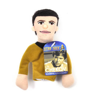 Mr. Chekov - Star Trek Finger Puppet & Fridge Magnet