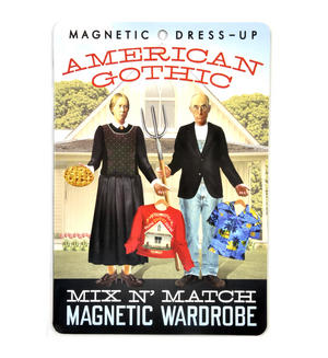 American Gothic Fridge Magnet Set - Mix n' Match Magnetic Wardrobe