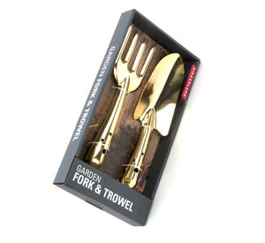 Gold Garden Fork & Trowel Thumbnail 2