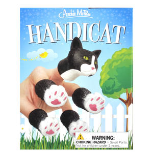 Handicat - Crazy Cat Lady Cat Hand Puppet Set