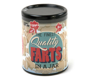Finest Quality Farts in a Jar - 6 Different Fart FX - Sound Machine