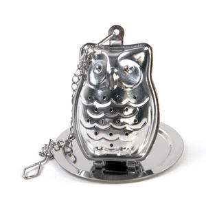 Owl Tea Infuser / Tea Egg Thumbnail 1