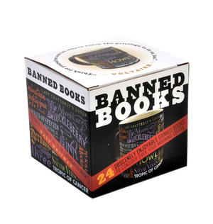 Banned Books Mug  - Lady Chatterley, Animal Farm, Les Miserables, Lolita, Naked Lunch etc Thumbnail 2