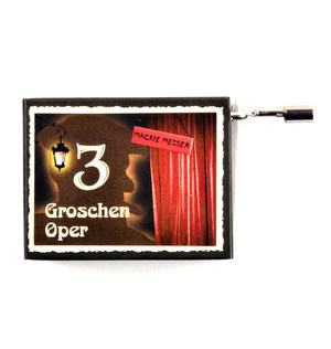 Mack the Knife (Mackie Messer) - Weill & Brecht's Threepenny Opera - Handcrank Music Box