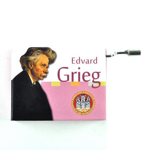 Edvard Grieg - Solveig's Song - Handcrank Music Box