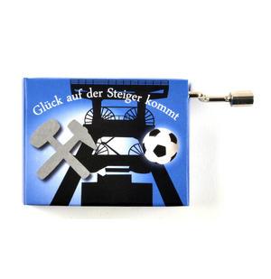 Glück Auf, der Steiger kommt (Blue Steigermarsch) - German Folk Steigerlied Miner's Song  - Handcrank Music Box