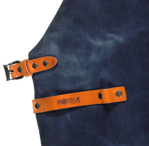 Mr. Smith Cheese Apron - Blue Leather Culinary Apron by Boska Thumbnail 3